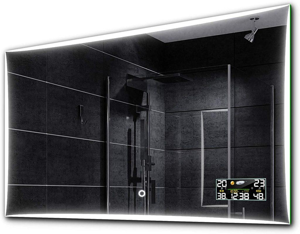 specchio da bagno bluetooth